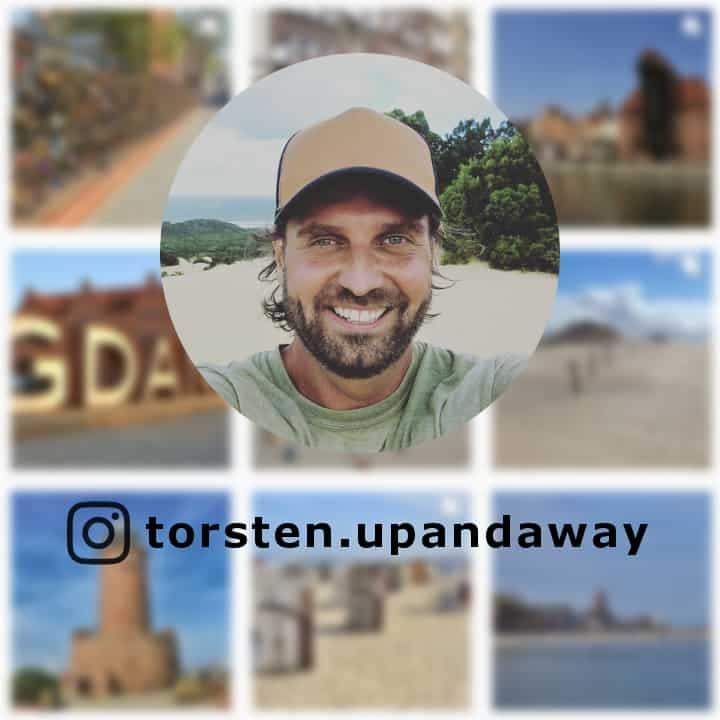 Instagram Torsten von upandaway.de - @torsten.upandaway