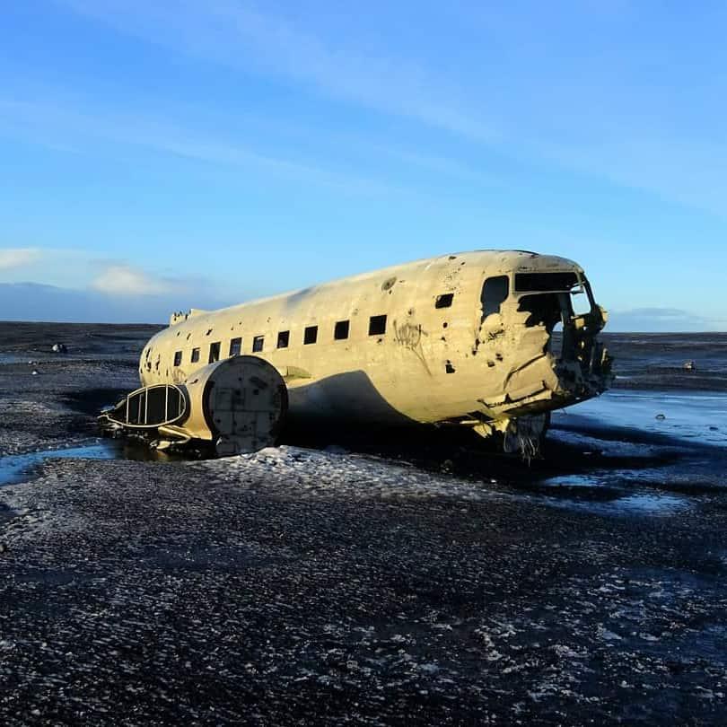Iceland US AirForce Plan Wreck - @torsten.upandaway