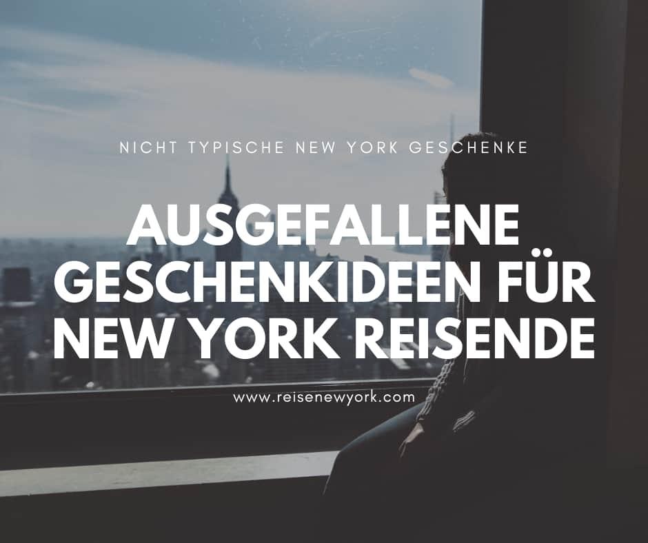 Geschenke für New York Reisende