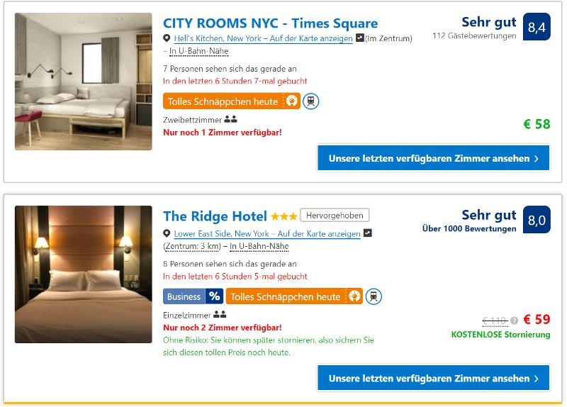 New York City Hotel günstig - www.reisenewyork.com