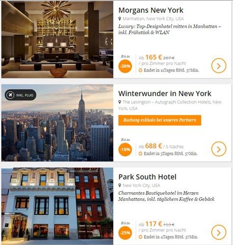 New York Hotel-Angebote bei Secret Escapes - www.reisenewyork.com