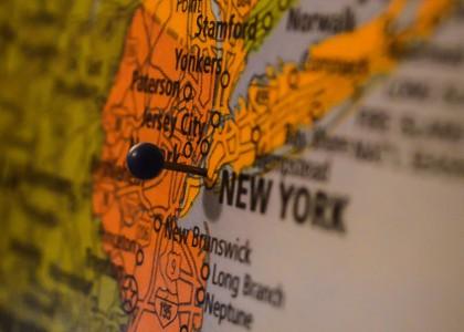 New York Karte Stadtrundfahrt