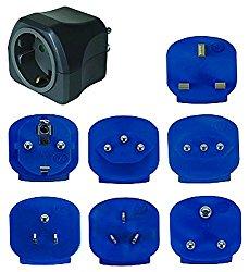 Brennenstuhl Reisestecker/-adapter-Set mit 10 A Sicherung